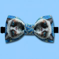 Designer Bow Tie - Portrait Cat