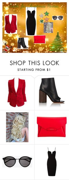 """""""LOOK OF YOUNG"""" by sofia-block on Polyvore featuring мода, Balmain, Givenchy, Yves Saint Laurent, women's clothing, women, female, woman, misses и juniors"""