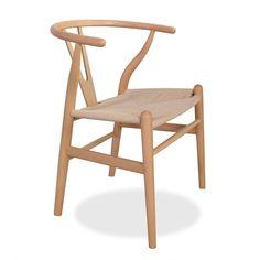 Inspirada en la Silla Wishbone de Hans J. Wegner.     Original respaldo en forma…