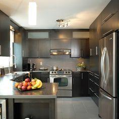 Modern Home Decor Kitchen Kitchen Room Design, Best Kitchen Designs, Kitchen Cabinet Design, Modern Kitchen Design, Kitchen Layout, Home Decor Kitchen, Interior Design Kitchen, Urban Kitchen, Kitchen Sets