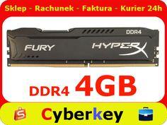 PAMIĘĆ 4GB 2133 DDR4 Fury Black  CL14 HYPERX