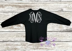 Check out this item in my Etsy shop https://www.etsy.com/listing/247172097/monogram-oversized-jersey-you-choose