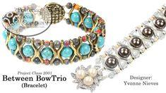 Between BowTrio Bracelet (DIY Jewelry-Making Tutorial) - YouTube
