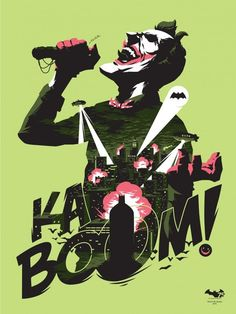 Kaboom! by Florey, limited edition of 75 on sale NOW