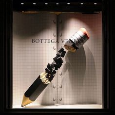 "BOTTEGA VENETA, ""Take Note"", pinned by Ton van der Veer"