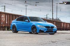 #BMW #F80 #M3 #Sedan #YasMarinaBlue #Vörsteiner #Tuning #Hot #Burn #Badass #Provocative #Sexy #Live #Life #Love #Follow #Your #Heart #BMWLife