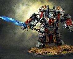 Conversion, Dreadknight, Dreadknight Conversion, Grey Knights, Warhammer 40,000 - Gallery - DakkaDakka   Lasgun with laser-sight = twin-linked Lasgun.
