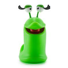 Kidrobot Best Fiends Lola Limited Edition Glow-In-The-Dark Slug Toy Figure for sale online Vinyl Toys, Vinyl Art, Best Fiends, The Darkest, Video Game, Action Figures, Glow, Ebay, Mobile Game