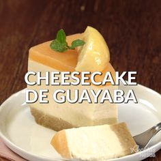 Guava Cheesecake - For a special occasion prepare this from - Mexican Food Recipes, Sweet Recipes, Dessert Recipes, Easy Cooking, Cooking Recipes, Cooking Okra, Cooking Torch, Comida Diy, Deli Food