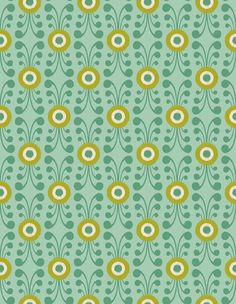 Pattern 91 from PatternPod.com #geometric #floral