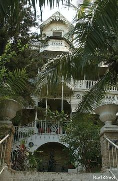 Like nothing else you'll ever see in Haiti.  Hotel Oloffson, Port Au Prince Haiti.  Had the best club sandwich of my life there.  Want to go back again.