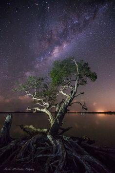 **Lake Weyba Milky Way** Australia by Damian McCudden on 500px