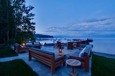 Lake Tahoe backyard.