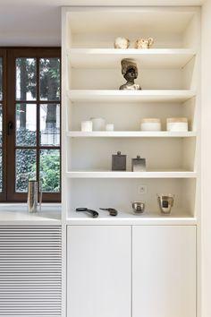 Modern Victorian, Joinery, Bungalow, Bookcase, Van Damme, Shelves, Interior Design, Kitchen, House