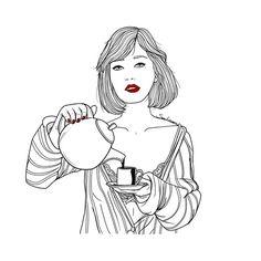 el café nos mantiene cuerdos. hasta que llegue la hora...