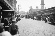 Pike Place looking south, Seattle, 1919 by Seattle Municipal Archives