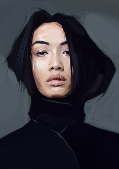 Portrait Drawing Singers and musicians, actress, model, and two man by Viktor Miller-Gausa, via Behance - L'art Du Portrait, Digital Portrait, Portraits, Digital Art, Illustration Mode, Portrait Illustration, Digital Illustration, Art Inspo, Painting Inspiration