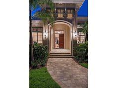 Transitional Entry - Olde Naples, Florida