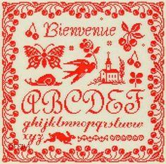 """MARJORIE MASSEY - Marquoir """"Ma Campagne"""" (AS5) - Des Filles et une Aiguille"""