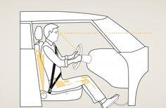 Algunos consejos para una postura correcta al volante