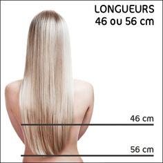 Extensions de cheveux à Clips 100% Naturels - Royal Extension