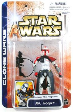Star Wars Clone Wars Arc Trooper Figure: Item is in stock and ready to ship. Star Wars Action Figures, Star Wars Toys, Star Wars Collection, Star Wars Clone Wars, Stars, Fan, Ship, Room, Christmas