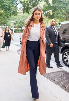 Consider This Your Guide to Jessica Alba's Fierce 2016 Street Style September in New York City