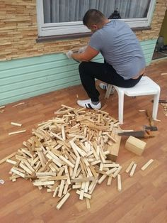 Wood decor in interior design – 2019 interior design In the event you have a back garden within your lawn, … Into The Woods, Diy Woodworking, Woodworking Projects Plans, Woodworking Techniques, Popular Woodworking, Wall Design, House Design, Garden Design, Design Design