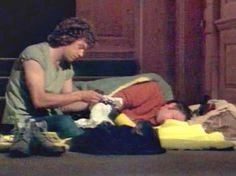 One of the best examples of this is in Mixed Doubles, the night before the big op, when Bodie and Doyle are camped out at the meeting venue. Description from ship-manifesto.dreamwidth.org. I searched for this on bing.com/images