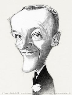 FRED  ASTAIRE  by Thierry Coquelet