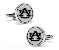 Auburn Tigers Cufflinks | Sterling Silver