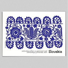 ludove ornamenty - Hľadať Googlom Hungarian Embroidery, Folk Embroidery, Embroidery Stitches, Embroidery Patterns, Stitch Patterns, Folk Art Flowers, Polish Folk Art, Pretty Designs, Card Templates