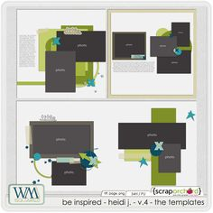Be Inspired - Heidi J - V.4 - Templates by WM[squared] Designs