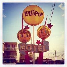 The Lollipop Motel. Wildwood, NJ