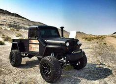 Diesel truck old school Jeep Pickup, Jeep 4x4, Jeep Truck, 4x4 Trucks, Diesel Trucks, Cool Trucks, Jeep Willys, Willys Wagon, Jordan 10