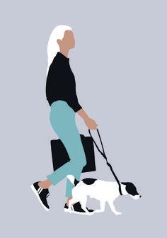 Vector people for architecture toffu. -vektor menschen für architektur t Art Clipart, Vector Art, Dog Vector, Person Silhouette, Render People, People Png, People Cutout, Graphisches Design, Interior Design
