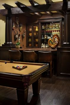 Man Cave Bar Series. This is a MUST in my future home
