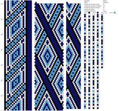 18 around tubular bead crochet rope Spiral Crochet, Bead Crochet Rope, Bead Crochet Patterns, Beading Patterns, Beaded Jewelry Designs, Beaded Jewellery, Crochet Beaded Bracelets, Beaded Curtains, Alpha Patterns