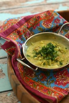 Punjabi Style Chicken Soup with Cabbage {Paleo, Whole30} Man, this was amazing!  (I would add salt later, it was too much salt in the recipe, otherwise deelish!)