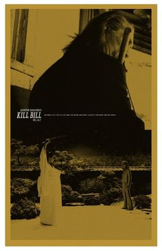 Kill Bill - movie poster - Adam Juresko