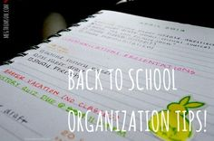 """megthomson: """" Organization is the key to success, in more ways than one. Not only does being organized lower your stress levels.. it helps motivate you! It's much easier to get things done when you are organized, so it's less discouraging when you go..."""