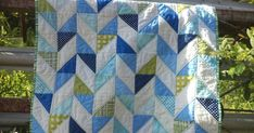 Hello, as promised I am posting another scrappy quilt tutorial. This one is for a scrappy modern herringbone. I have been seeing these quits...