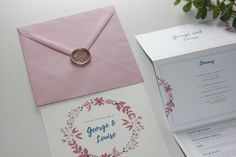 Blossom Stationery offers personalised and bespoke invitations and stationery for weddings, birthdays, baby showers and many more. Bespoke Wedding Invitations, Wedding Stationery, Order Of Service, Table Names, Wax Seals, Table Plans, Favor Tags, Save The Date, Thank You Cards
