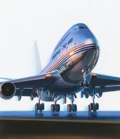 ATTILLA HEJJA - art for Super Plane Jumbo Jet - March 1989 Popular Mechanics