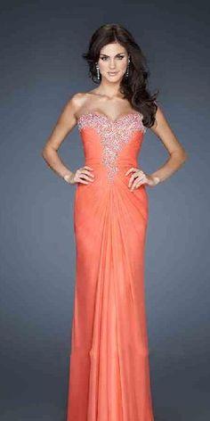 Cute Sleeveless Long Light Sky Blue Chiffon Sweetheart Prom Dress Sale tkzdresses02152nkj #longdress #promdress