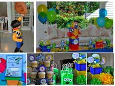 Toy Story birthday party from Frosted Events     #kidsparty  #toystory   #toystoryparty  #birthdayparty