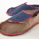 Fabric slipper video tutorial