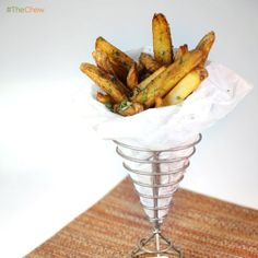 Dynamite Disco Fries by Carla Hall! #TheChew #Fries #FrenchFries
