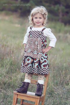 apron knot dress