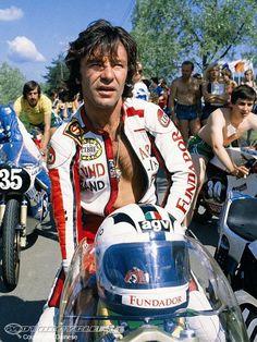 Motorcycle Racers, Racing Motorcycles, Vintage Motorcycles, Motogp, Grand Prix, Ibiza, Vintage Helmet, Old Bikes, Motorcycle Helmets
